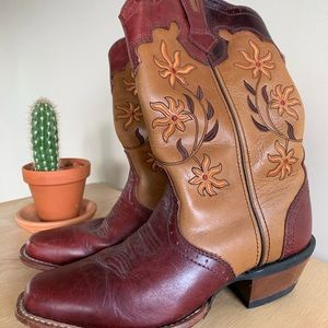 Genuine Leather Cowgirl Boots